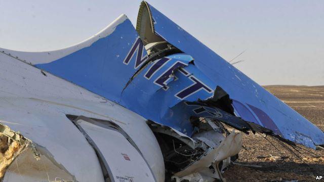 voa慢速英语:俄罗斯飞机失事时检测到热闪光